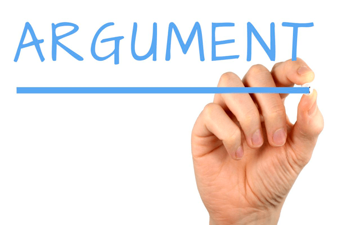 arguments | writing tips