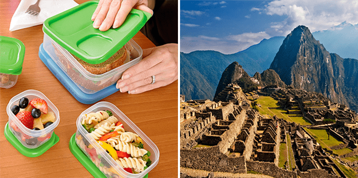 lunch box, Peru